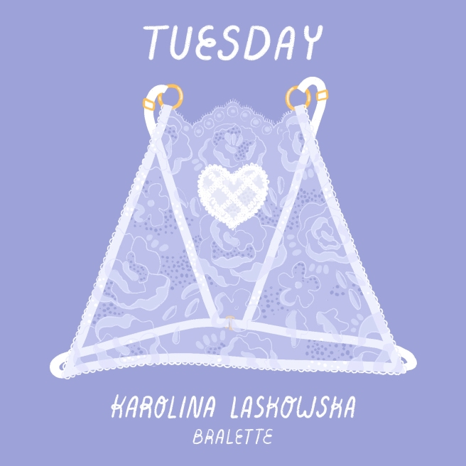 2 - Tuesday - Karolina Laskowska Bralette