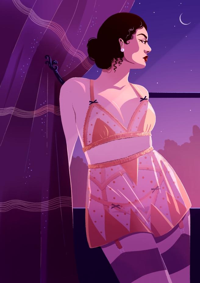 Evgenia Lovesick Illustration
